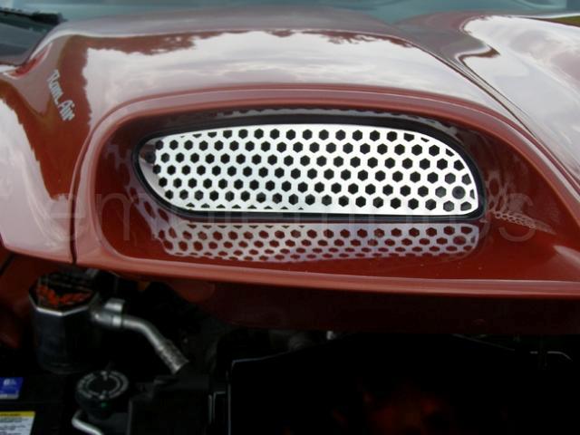 Pontiac Firebird Trans Am Ws6 Hood Grille Inserts CHROME