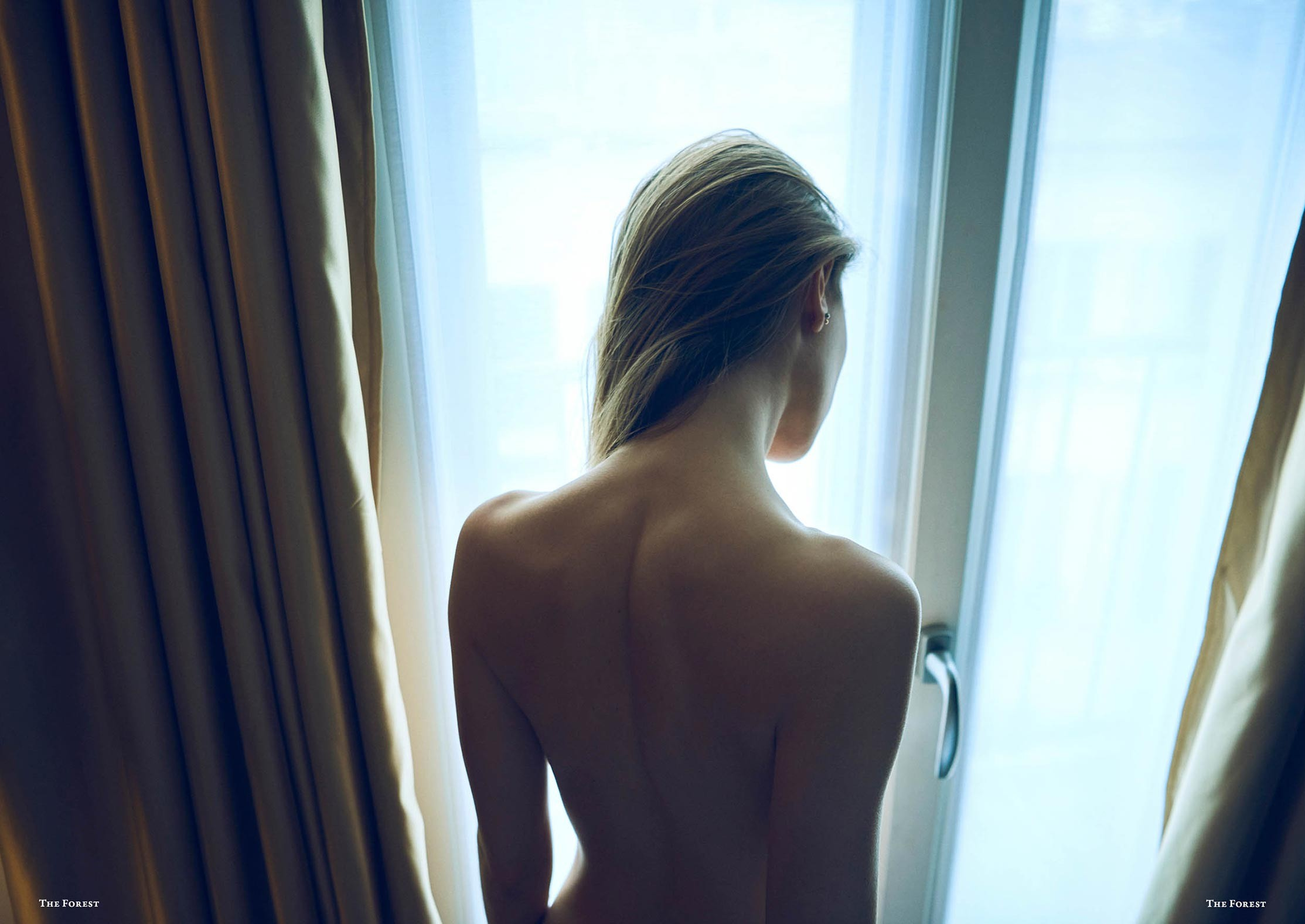 Miluniel nude by Stefan Rappo - the forest magazine