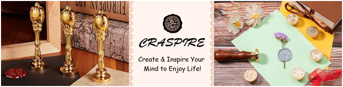 CRASPIRE Launches  Various Wax Seal Stamps To Provide Unique, Creative And Personalized Touches To DIY Paper Crafts And Other Related Fabrics