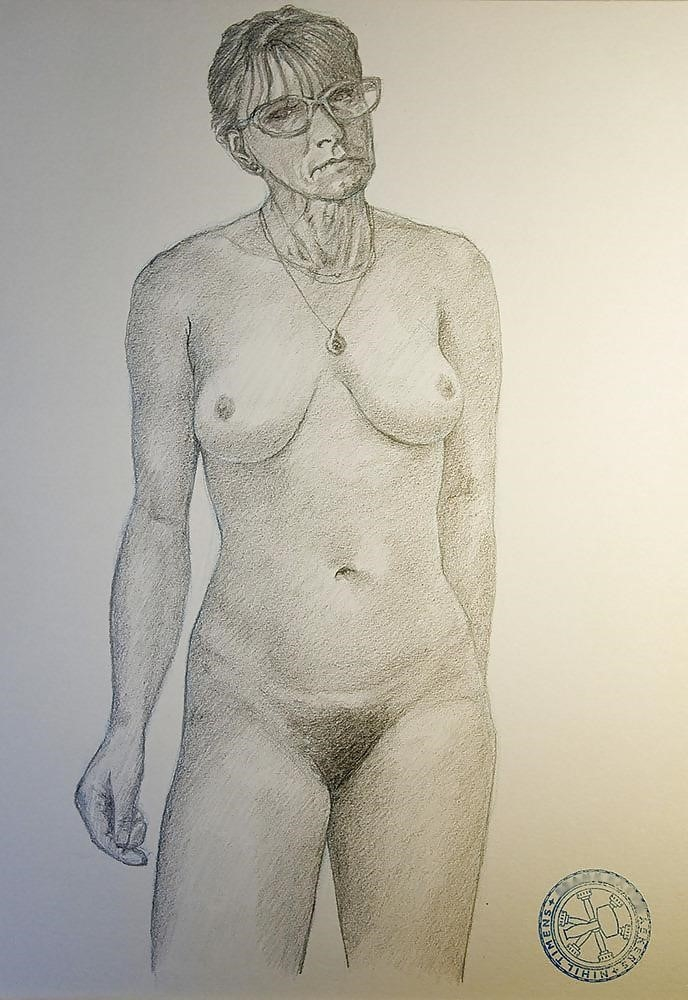 How to draw male nude-1240