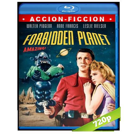 El Planeta Desconocido [m720p][Trial Lat/Cas/Ing](1956)