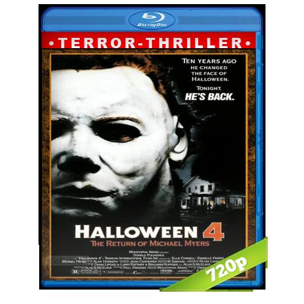 descargar Halloween 4 [1988][BD-Rip][720p][Trial Lat-Cas-Ing][Terror] gartis
