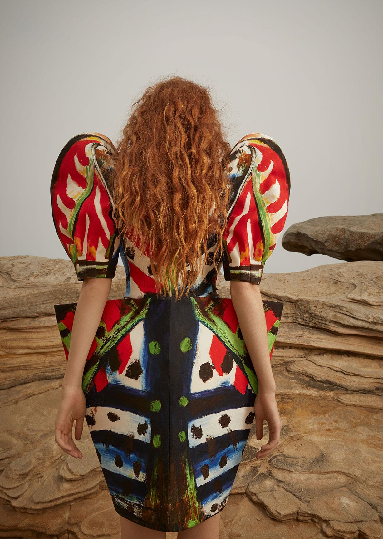Модный маскарад в журнале Grazia / фото 12