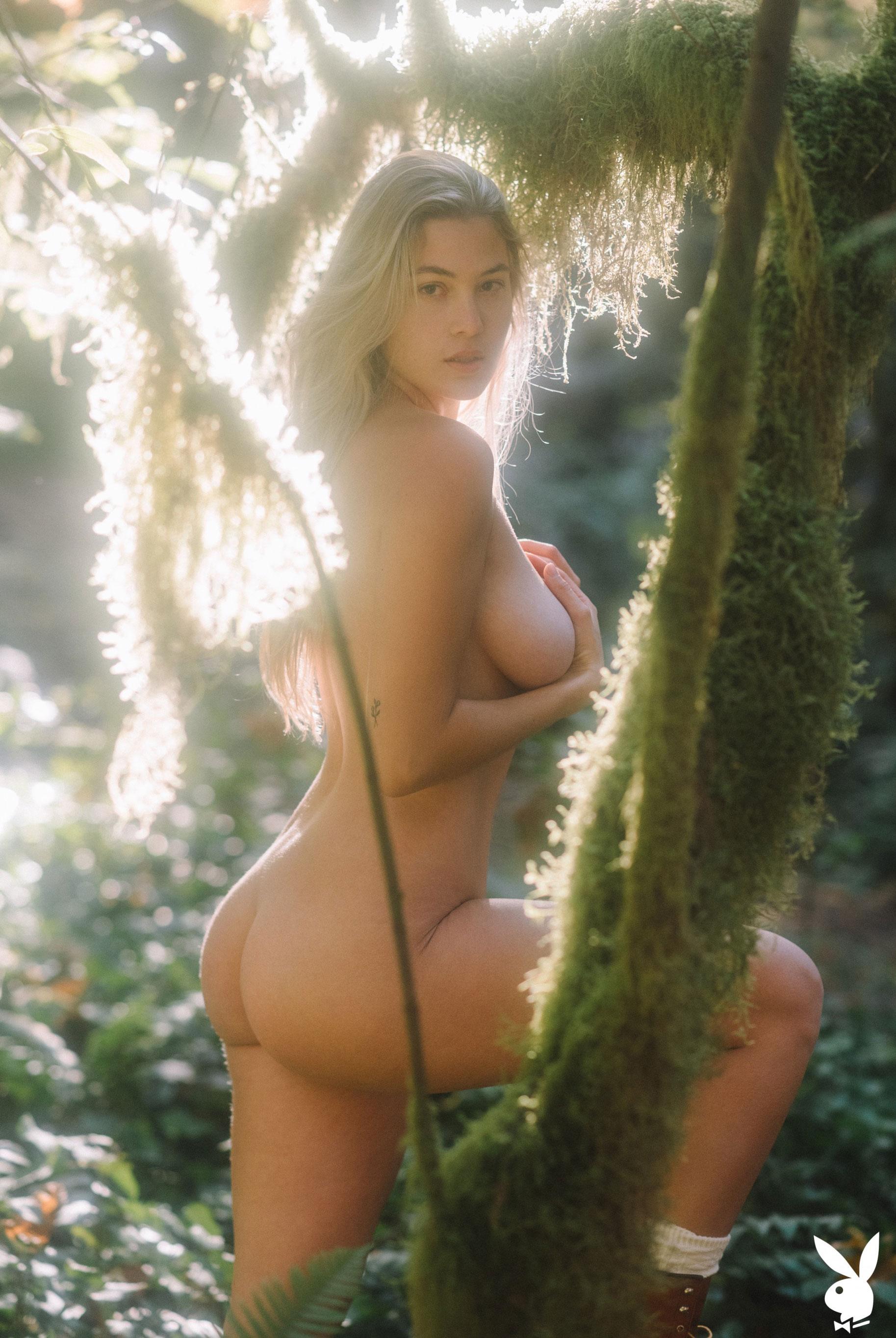 Меган Мур - Девушка месяца февраль 2019 Playboy США / фото 05