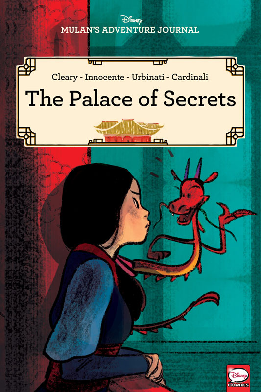 Disney Mulan's Adventure Journal - The Palace of Secrets (2020)