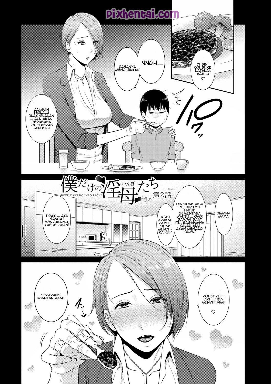 Komik hentai xxx manga sex bokep menjadi rebutan 2 ibu angkat bohay 01