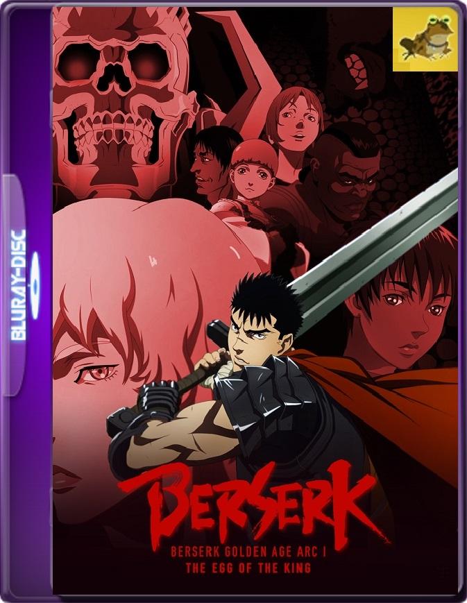 Berserk, The Golden Age Arc I: The Egg Of The King (2012) Brrip 1080p (60 FPS) Japonés Subtitulado