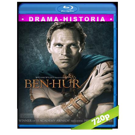 descargar Ben-Hur 720p Lat-Cast-Ing[Historia](1959) gratis