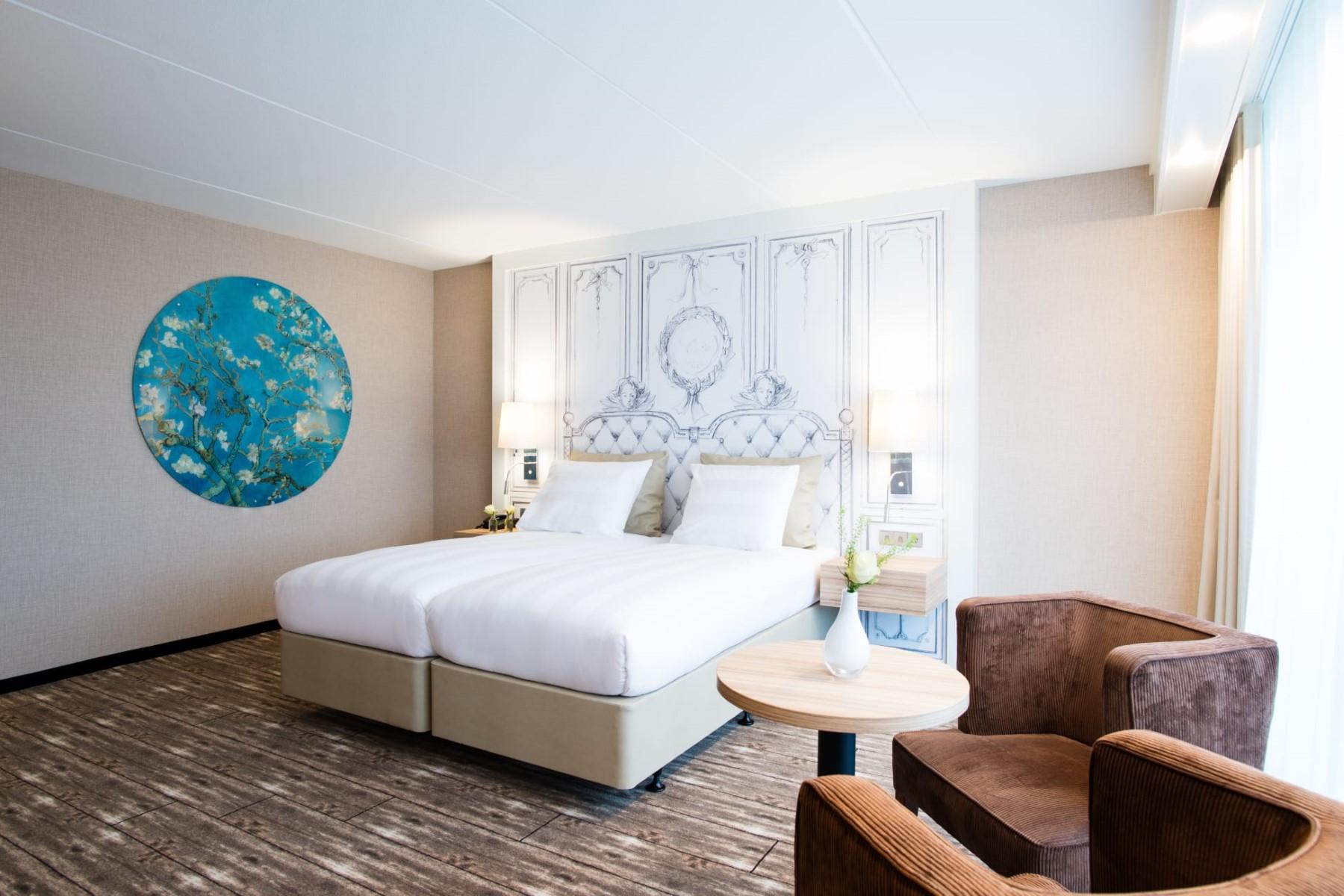 Hotelkamer Van der Valk Schiphol A4