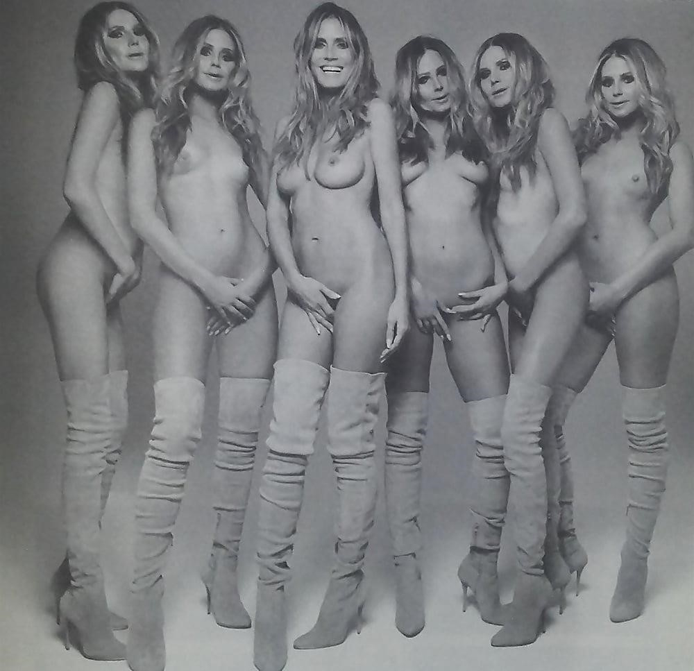 Heidi klum nude and topless leaked pictures