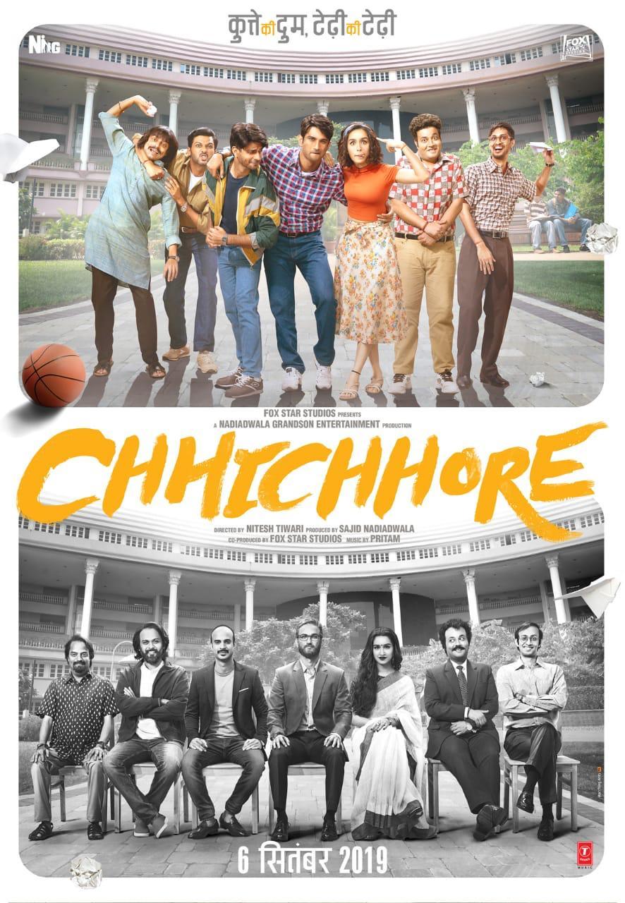 Chhichhore (2019) Hindi 720p HDRip x264 AAC ESubs