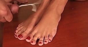 Lesbian long toes-5994