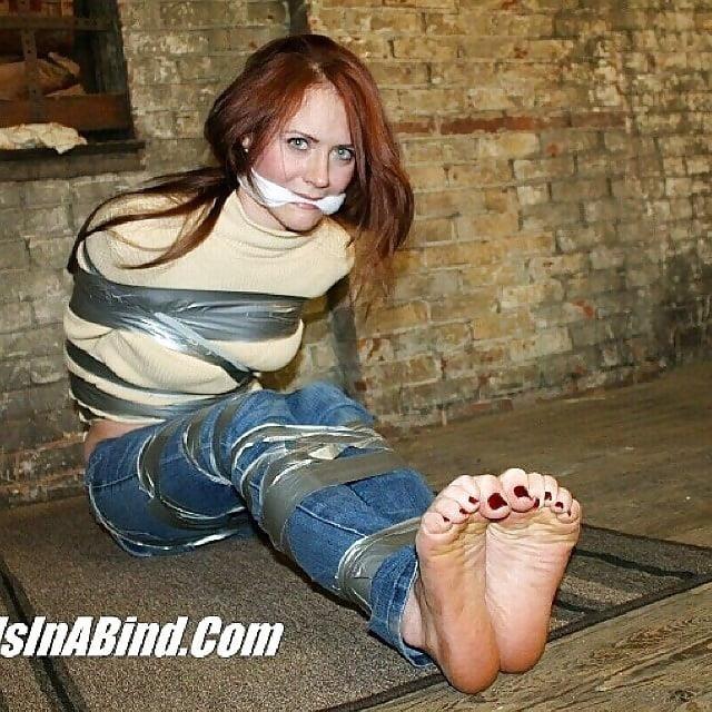 Bondage tickle feet-7872