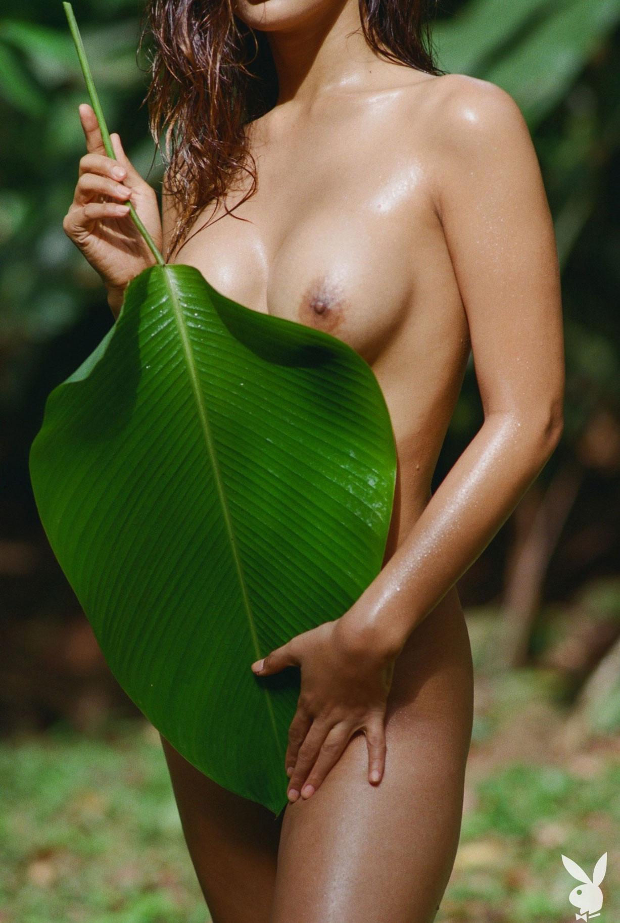 Девушка месяца Playboy США в августе 2019 - трансгендерная модель Джина Росеро / фото 12