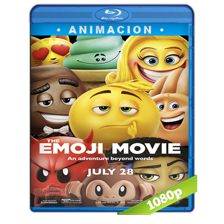 descargar Emoji La Pelicula 1080p Lat-Cast-Ing 5.1 (2017) gratis