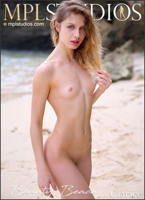 [MPLStudios.com] 2020.11.15 Clarice - Beauty Beach [Glamour] [4000x2668, 90 photos]