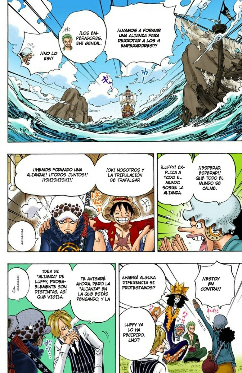 One Piece Manga 698-699 [Full Color] [Punk Hazard] RKMtVPAT_o