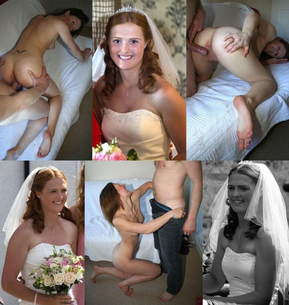 Wedding dress bukkake-9087