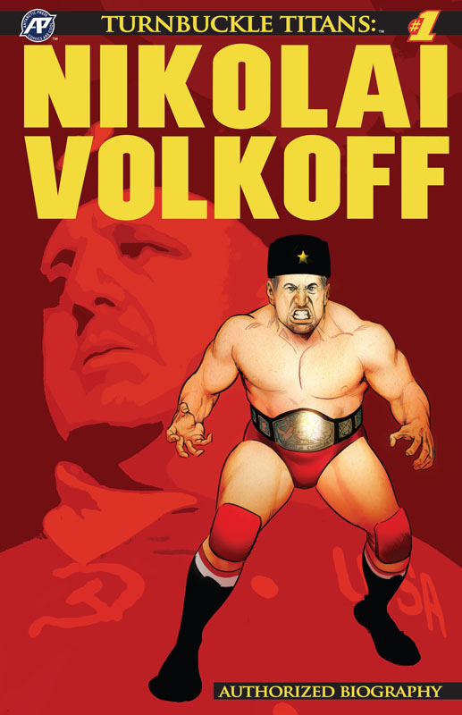 Turnbuckle Titans - Nikolai Volkoff #1-3 (2018-2019)