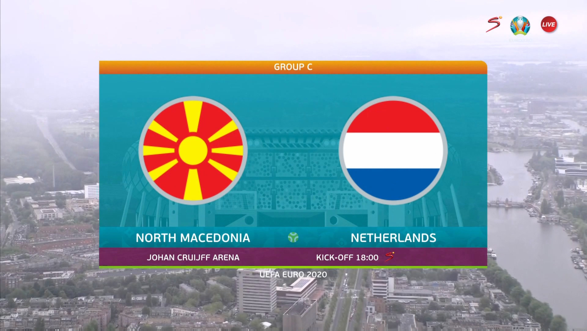 Full match: North Macedonia vs Netherlands
