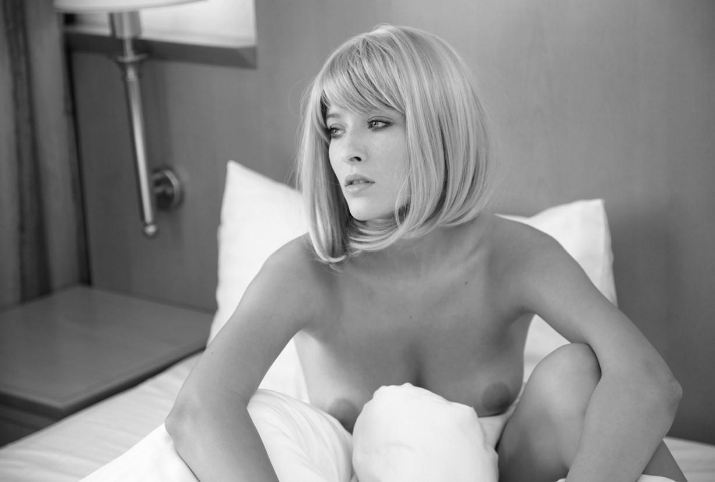 Magda nude by Marcin Biedron in Hotel Room