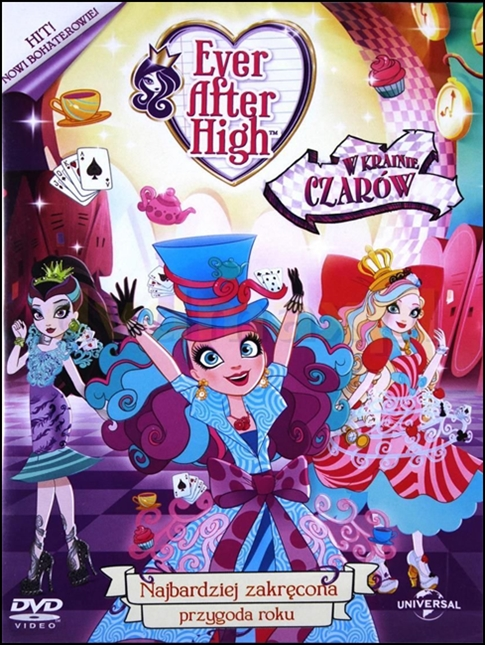 Ever After High: W Krainie Czarów / Ever After High: Way Too Wonderland (2015)  HQDVDRip.H264.AC-3.480p.MDA / DUBBING