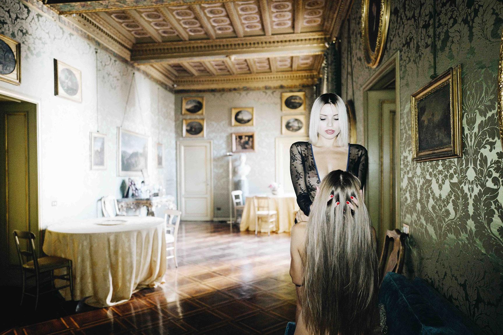 Alina Rotaroo and Margo Dumas by Andrea Mete - CoyCulture Magazine