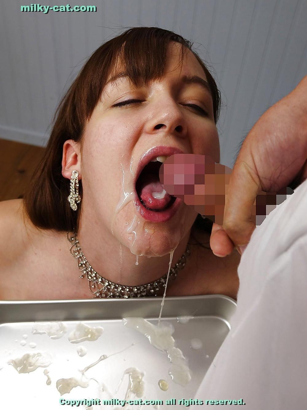 White girl bukkake-5503