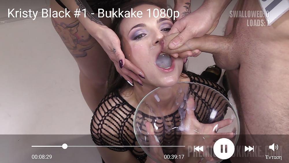 Black bukkake gay-4712