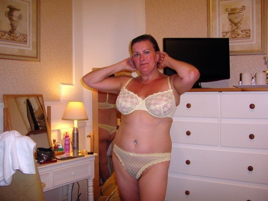Milf naked lingerie-4220