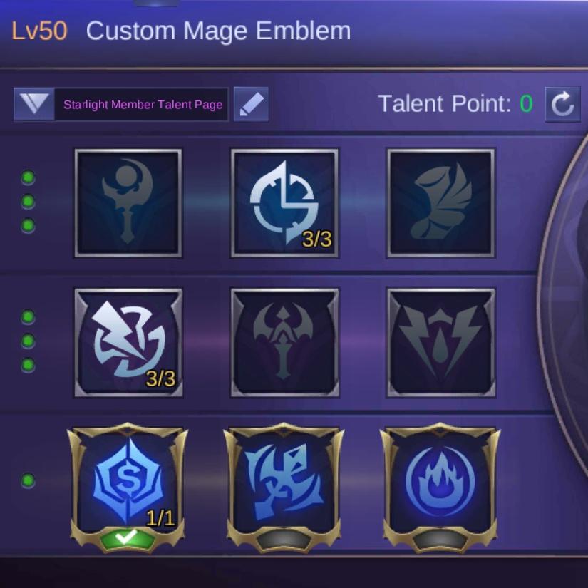 Custom Mage Emblem