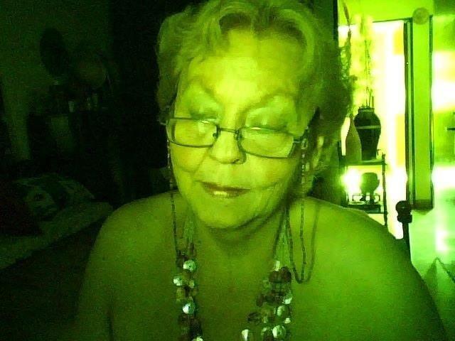Chubby granny webcam-7440