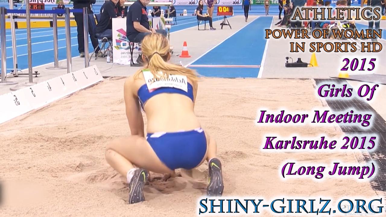 2015 – Girls Of Indoor Meeting Karlsruhe 2015 (Long Jump)
