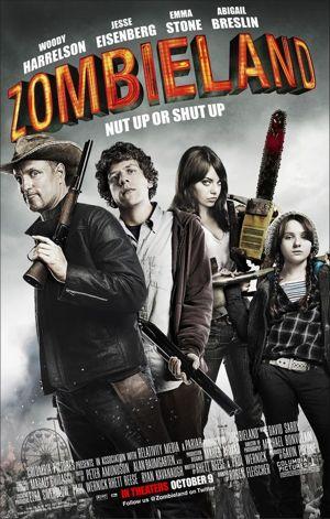 Zombieland (2009) 720p BRRip 800MB Mkvcage Movies