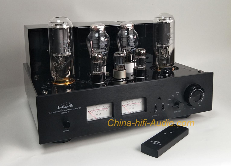 China-hifi-Audio Provides Line Magnetic 508IA Audiophile Tube Amplifiers To Offer Amazing Crystal Clear Sounds For Various Devices
