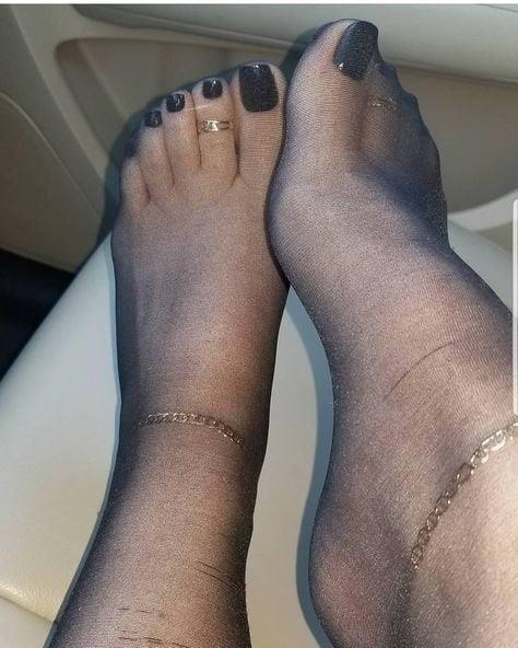 Nylon feet porn hd-7128