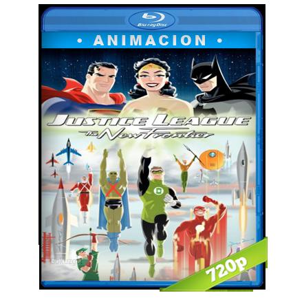 descargar Liga De La Justicia La Nueva Frontera 720p Lat-Cast-Ing[Animacion](2008) gratis