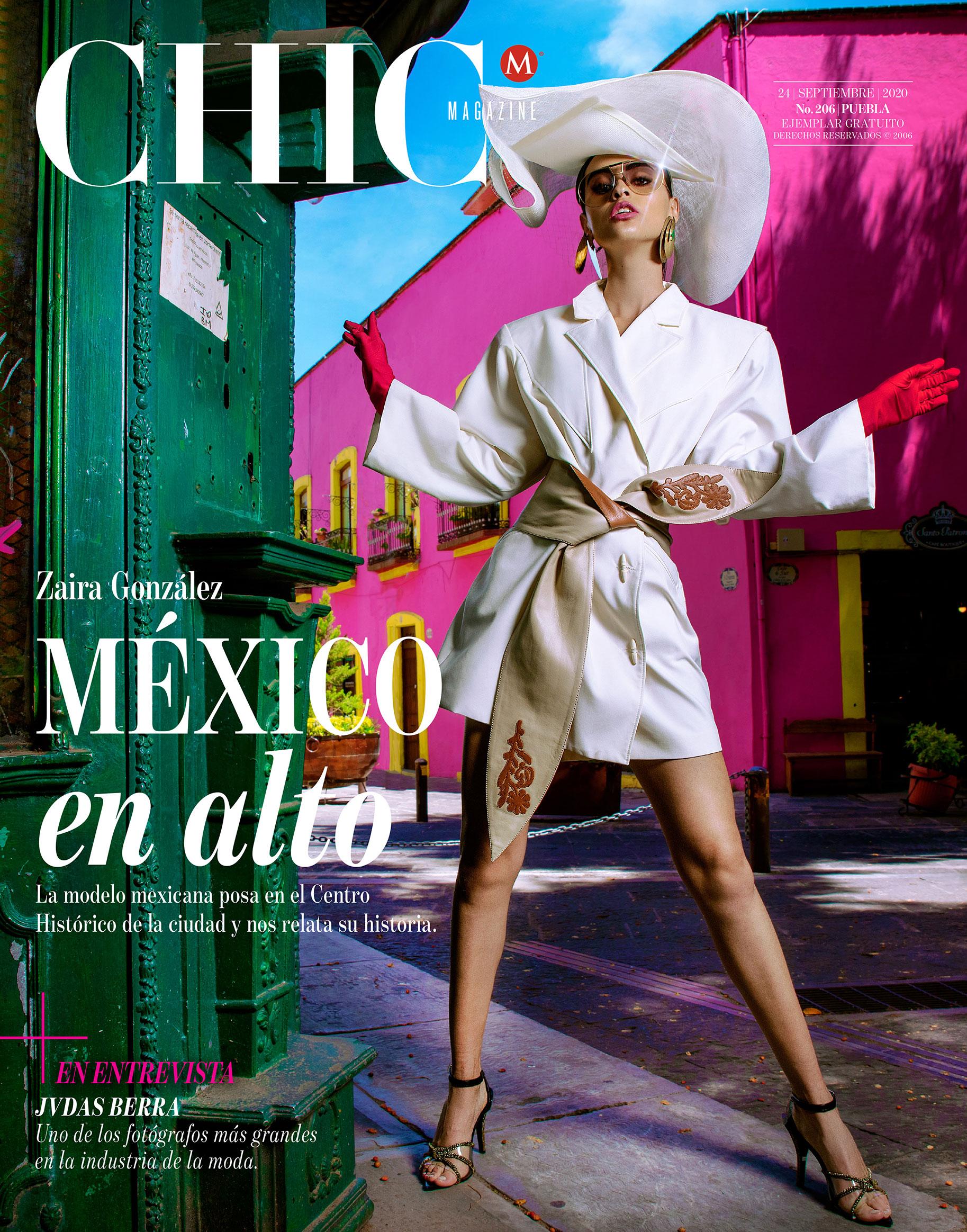 Заира Майари в модном показе на улицах Пуэбла-сити / фото 09