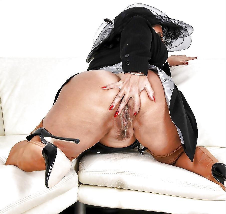 Amanda nylon feet-6340