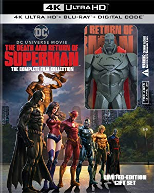 The Death and Return of Superman 2019 720p BRRip XviD AC3-XVID