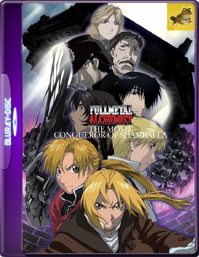 Fullmetal Alchemist: Conqueror Of Shamballa (2005) Brrip 1080p (60 FPS) Japonés Subtitulado