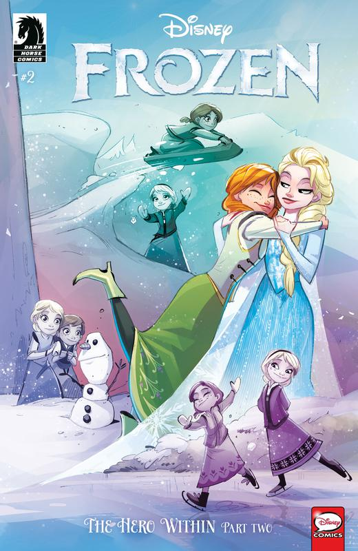 Frozen - The Hero Within #1-3 (2019) Complete