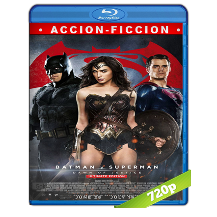 Batman Vs Superman  El Origen De La Justicia (2016) BRRip 720p Audio Trial Latino-Castellano-Ingles 5.1