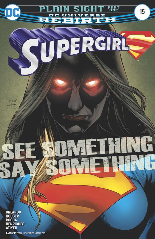 Supergirl #1-15 + Annual (2016-2017)
