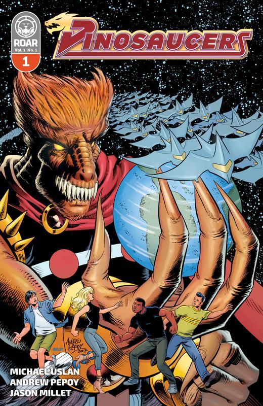 Dinosaucers #1-5 (2018-2019)