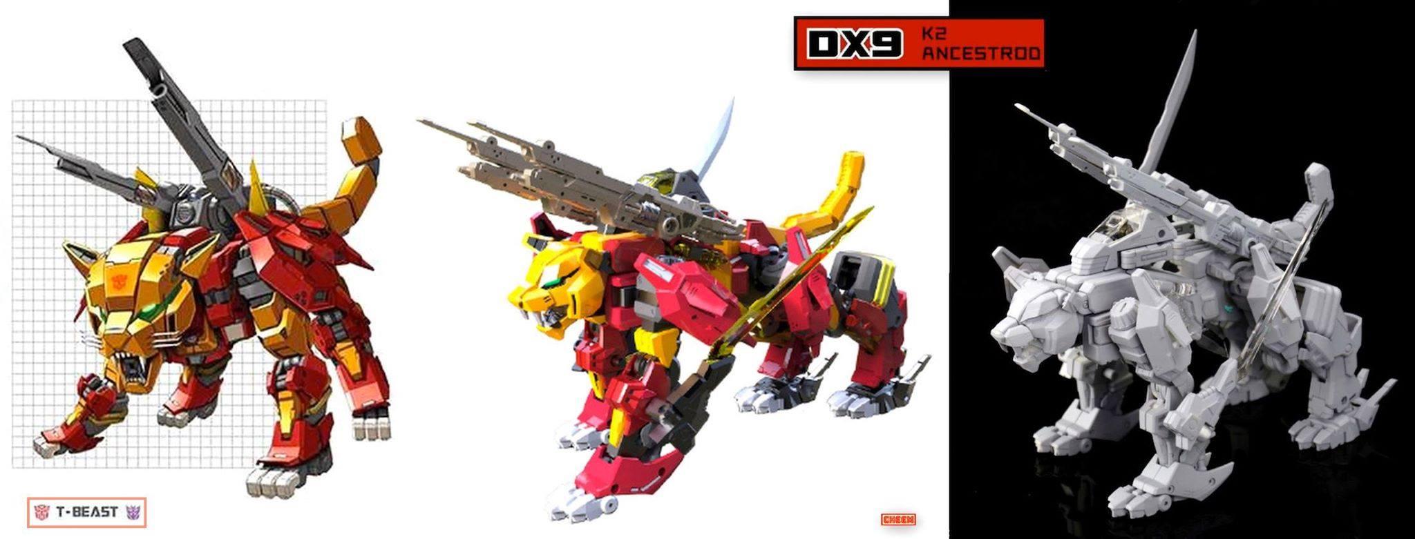 Produit Tiers - Design T-Beast - Basé sur Beast Wars - par Generation Toy, DX9 Toys, TT Hongli, Transform Element, etc G9FA6j8G_o