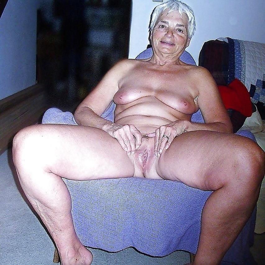 Chubby granny naked-3723