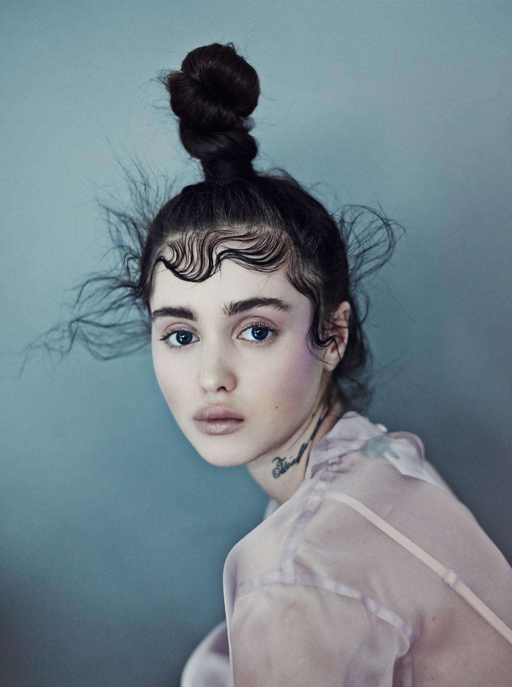Алия Галяутдинова / Aliya Galyautdinova by Nicolas Guerin - Schon! Magazine