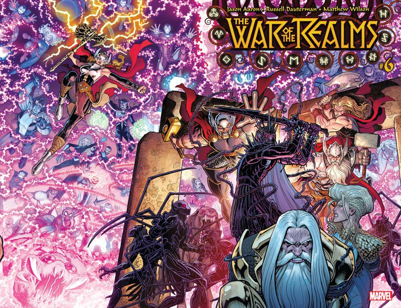 War of the Realms #1-6 + OS (2019)