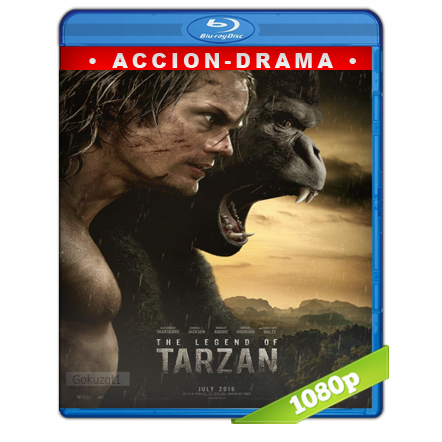 La Leyenda De Tarzan (2016) BRRip Full 1080p Audio Trial Latino-Castellano-Ingles 5.1